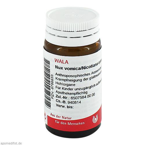 NUX VOMICA/NICOTIANA COMP, 20 G, Wala Heilmittel GmbH
