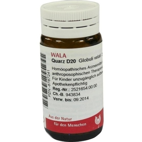 QUARZ D20, 20 G, Wala Heilmittel GmbH