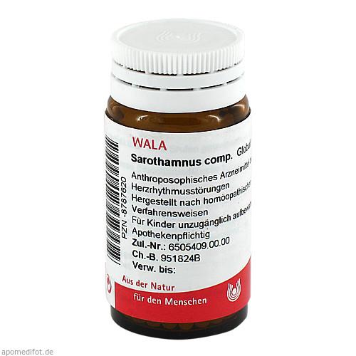 SAROTHAMNUS COMP, 20 G, Wala Heilmittel GmbH