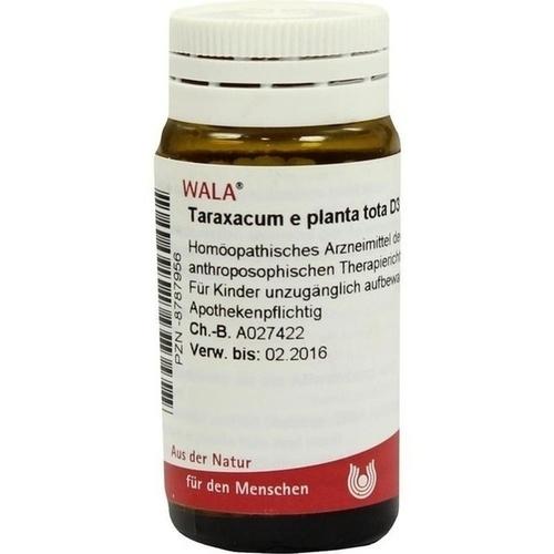 TARAXACUM E PLANT TOTA D 3, 20 G, Wala Heilmittel GmbH