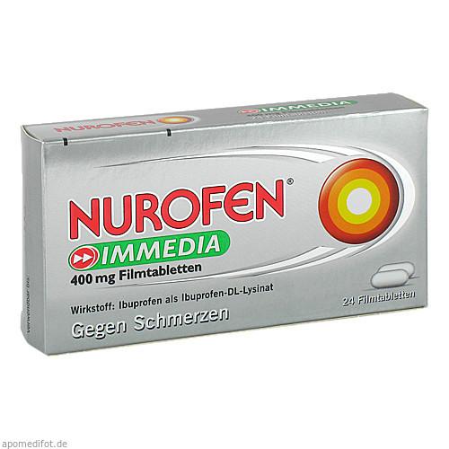 Nurofen Immedia 400 mg Filmtabletten, 24 ST, Reckitt Benckiser Deutschland GmbH