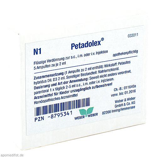 Petadolex, 5X2 ML, Weber & Weber GmbH & Co. KG