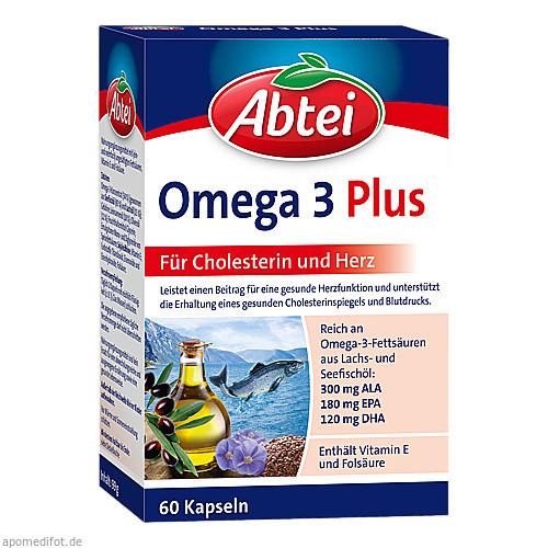 Abtei Omega 3-6-9 Lachsöl+Leinöl+Olivenöl, 60 ST, Omega Pharma Deutschland GmbH