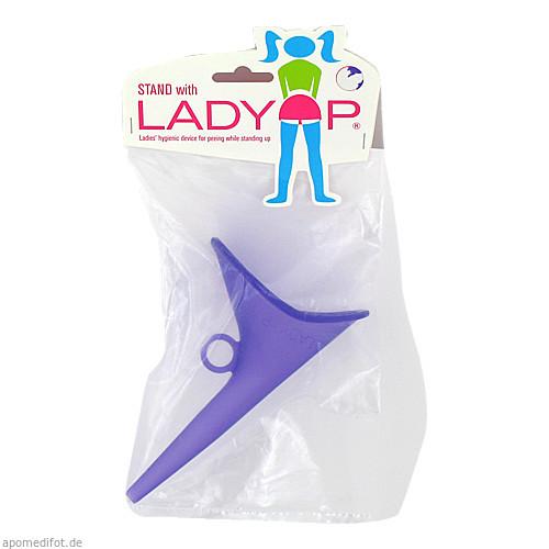 LADY P lila Urinierhilfe Für Frauen, 1 ST, Kessel Medintim GmbH