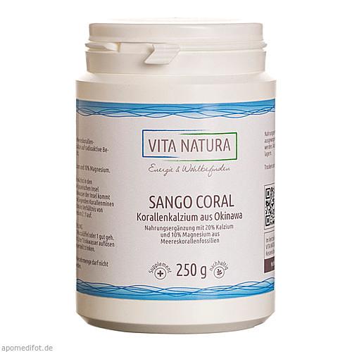 SANGO KORALLENKALZIUM, 250 G, Vita Natura GmbH & Co. KG