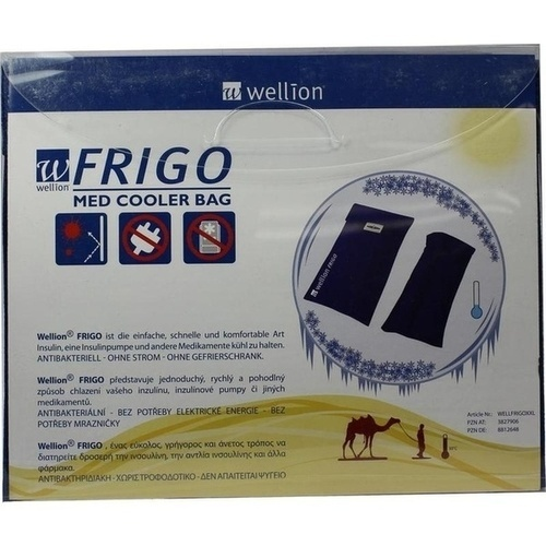 Wellion FRIGO XXL med cooler bag, 1 ST, Med Trust GmbH