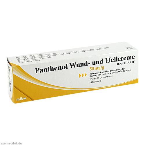 Panthenol Wund-und Heilcreme Jenapharm, 100 G, Mibe GmbH Arzneimittel