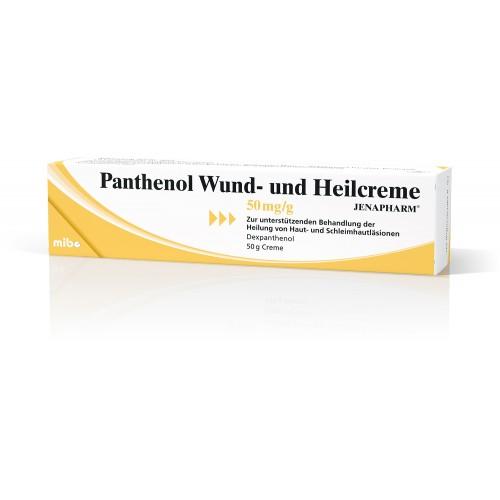 Panthenol Wund-und Heilcreme Jenapharm, 50 G, Mibe GmbH Arzneimittel