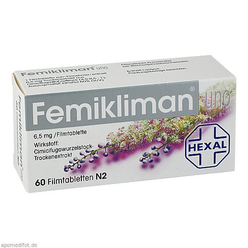 Femikliman uno, 60 ST, Dr. Kade Pharm. Fabrik GmbH