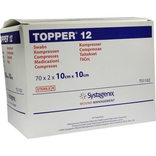 TOPPER 12 STER 10X10CM, 70X2 ST, Kci Medizinprodukte GmbH