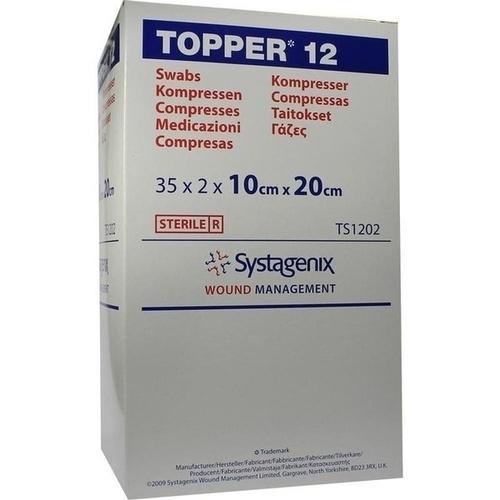 Topper 12 steril 10x20cm, 35X2 ST, Kci Medizinprodukte GmbH