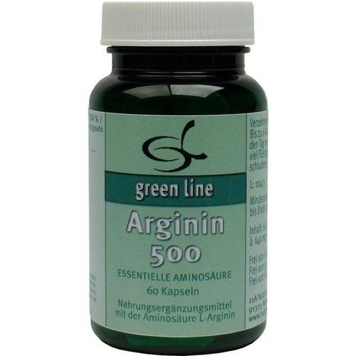 Arginin 500, 60 ST, 11 A Nutritheke GmbH