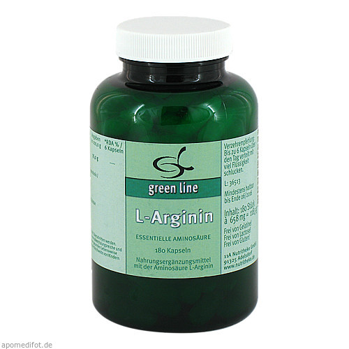 L-Arginin, 180 ST, 11 A Nutritheke GmbH