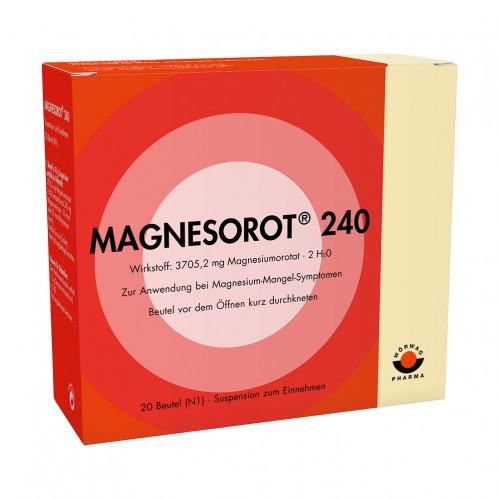 Magnesorot 240, 20 ST, Wörwag Pharma GmbH & Co. KG