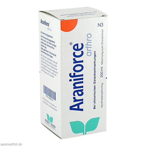 Araniforce arthro, 200 ML, Weber & Weber GmbH & Co. KG