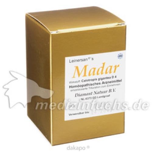 Madar Kapseln, 60 ST, Diamant Natuur GmbH