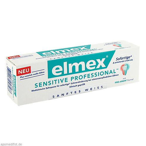elmex SENSITIVE PROFESSIONAL plus Sanft. Zahnweiss, 75 ML, Cp Gaba GmbH