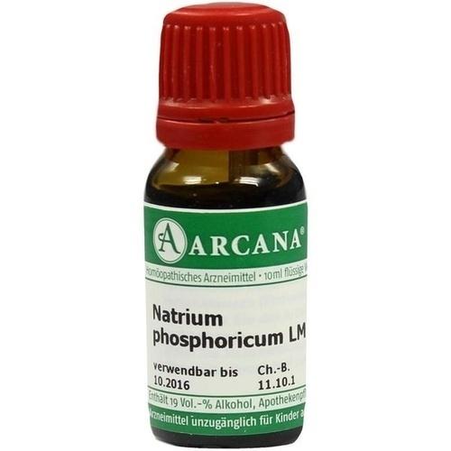 Natrium phosphoricum ARCA LM 6, 10 ML, Arcana Arzneimittel-Herstellung Dr. Sewerin GmbH & Co. KG