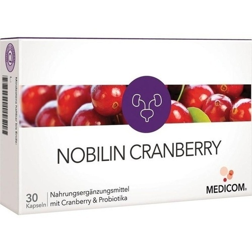 Nobilin Cranberry, 30 ST, Medicom Pharma GmbH