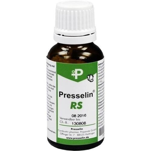 Presselin RS, 15 G, COMBUSTIN Pharmazeutische Präparate GmbH