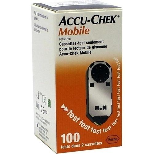 Accu-Chek Mobile Testkassette Plasma II, 100 ST, Eurimpharm Arzneimittel GmbH