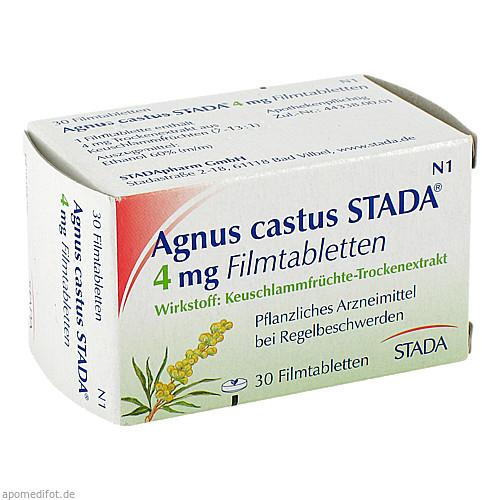 Agnus castus STADA 4mg Filmtabletten, 30 ST, STADA GmbH