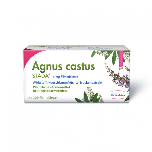 AGNUS CASTUS STADA Filmtabletten, 100 ST, STADA GmbH
