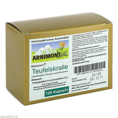 TEUFELSKRALLE KAPSELN, 120 ST, ARNIMONT PHARMA GmbH