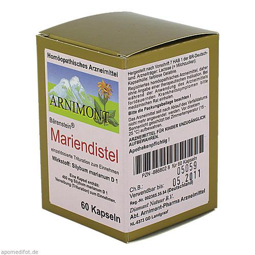 MARIENDISTEL KAPSELN, 60 ST, ARNIMONT PHARMA GmbH