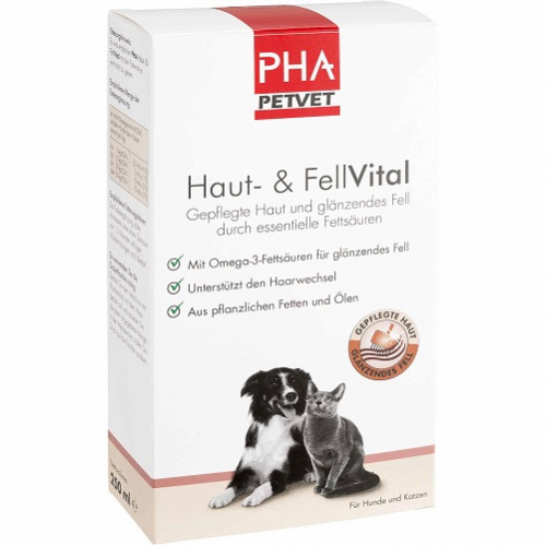 PHA Haut- und FellVital für Hunde, 250 ML, PetVet GmbH