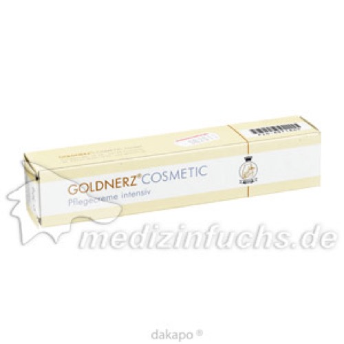 Goldnerz Pflegecreme Intensiv, 50 G, Goldnerz Cosmetic GmbH