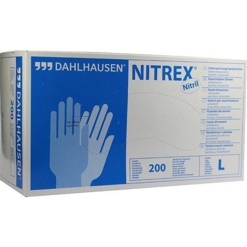 Handschuhe Nitril ungepudert Größe L, 200 ST, P.J.Dahlhausen & Co. GmbH