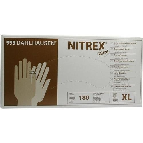 Handschuhe Nitril ungepudert Größe XL, 180 ST, P.J.Dahlhausen & Co. GmbH