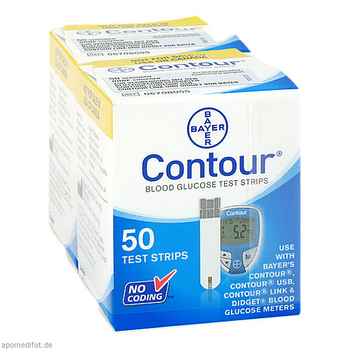 Contour Sensoren Teststreifen, 100 ST, Emra-Med Arzneimittel GmbH