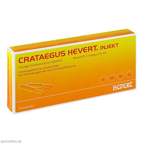 Crataegus Hevert injekt, 10 ST, Hevert Arzneimittel GmbH & Co. KG