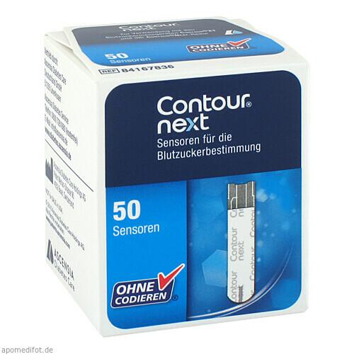 CONTOUR Next Sensoren Teststreifen, 50 ST, Ascensia Diabetes Care Deutschland GmbH