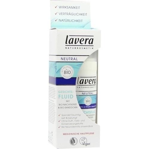 lavera Neutral Gesichtsfluid, 30 ML, Laverana GmbH & Co. KG