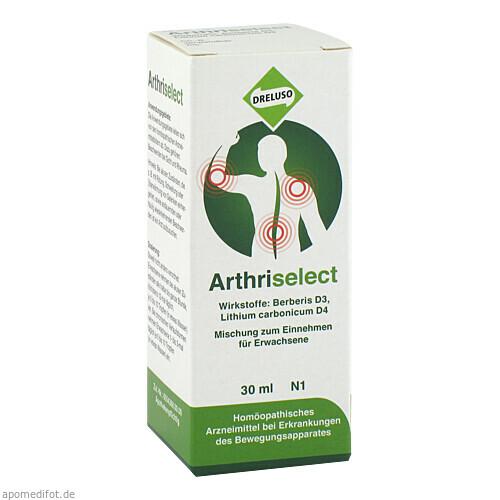 Arthriselect, 30 ML, Dreluso-Pharmazeutika Dr.Elten & Sohn GmbH