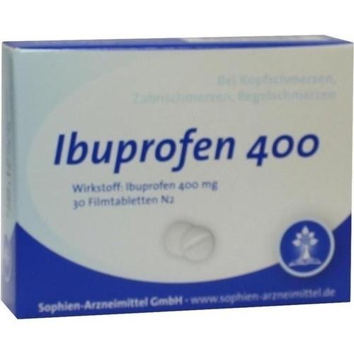 Ibuprofen Sophien 400, 30 ST, Sophien-Arzneimittel GmbH