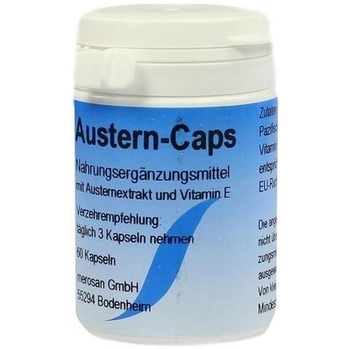 Austern Caps, 60 ST, merosan GmbH