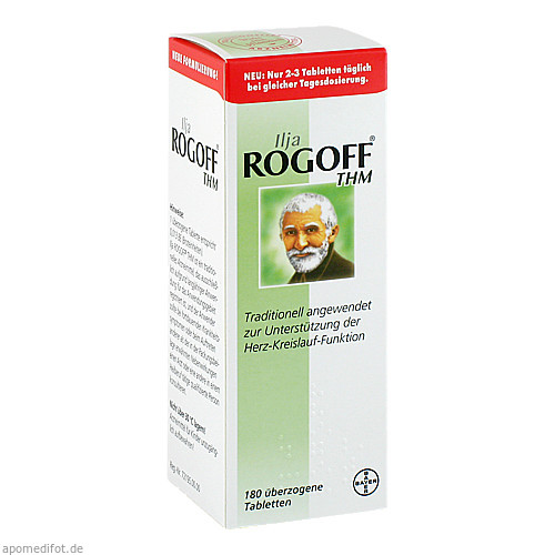 Ilja Rogoff THM, 180 ST, Bayer Vital GmbH