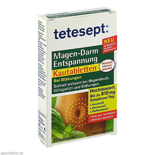 tetesept Magen-Darm Entspannung Kautabletten, 20 ST, Merz Consumer Care GmbH