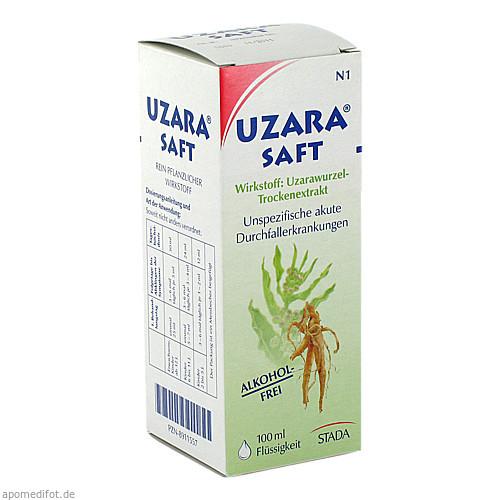 Uzara Saft Alkoholfrei, 100 ML, STADA GmbH