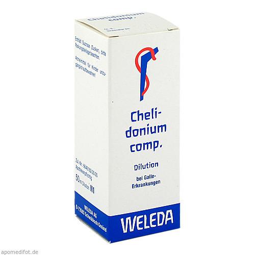 Chelidonium comp., 50 ML, Weleda AG