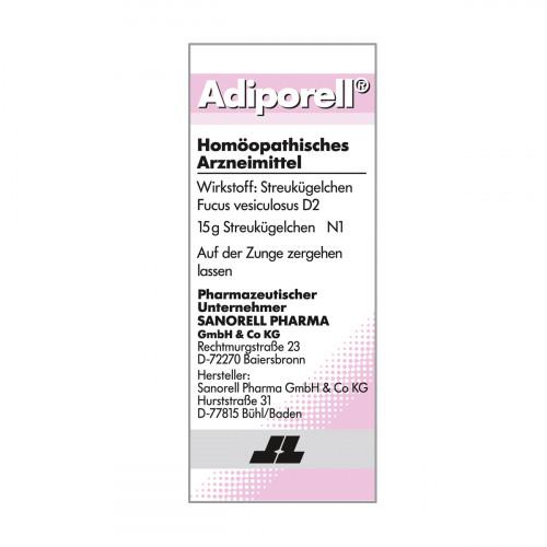 Adiporell D 2, 15 G, sanorell pharma GmbH & Co KG