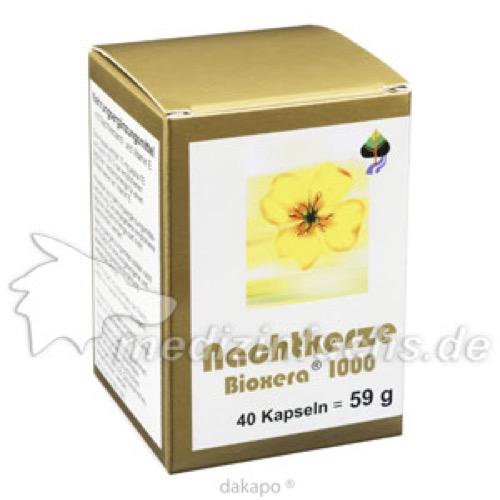 Nachtkerze Bioxera 1000, 40 ST, Fbk-Pharma GmbH