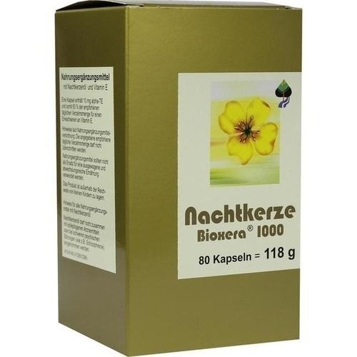 Nachtkerze Bioxera 1000, 80 ST, Fbk-Pharma GmbH