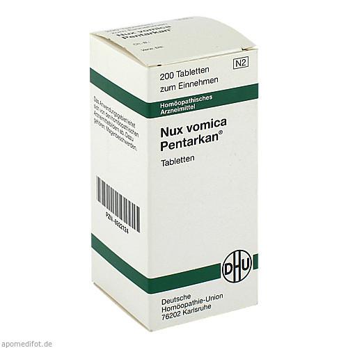 NUX VOMICA PENTARKAN, 200 ST, Dhu-Arzneimittel GmbH & Co. KG