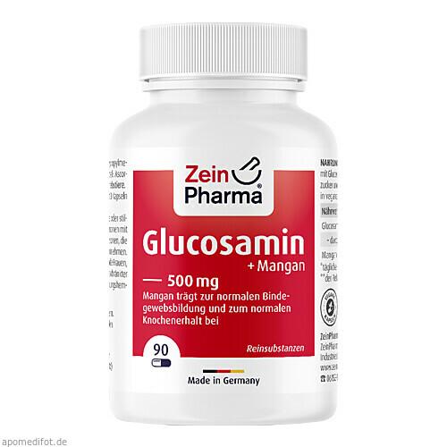 GLUCOSAMIN 500 mg Kapseln, 90 ST, Zein Pharma - Germany GmbH