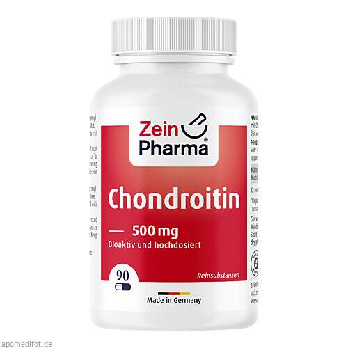 Chondroitin 500mg, 90 ST, Zein Pharma - Germany GmbH
